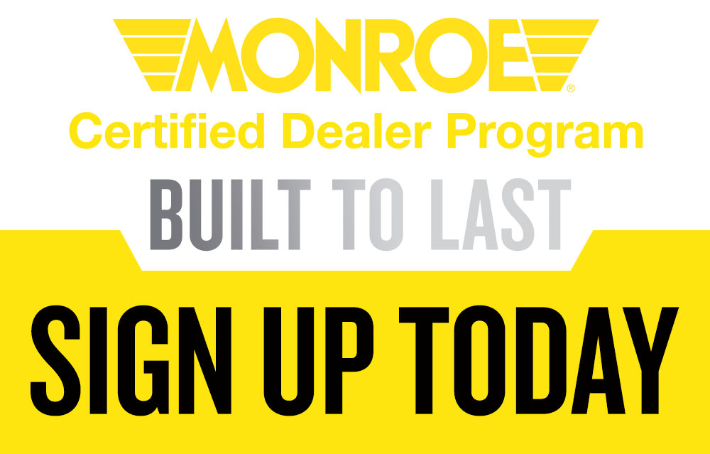 Monroe Certified Dealer Program Sign Up Today