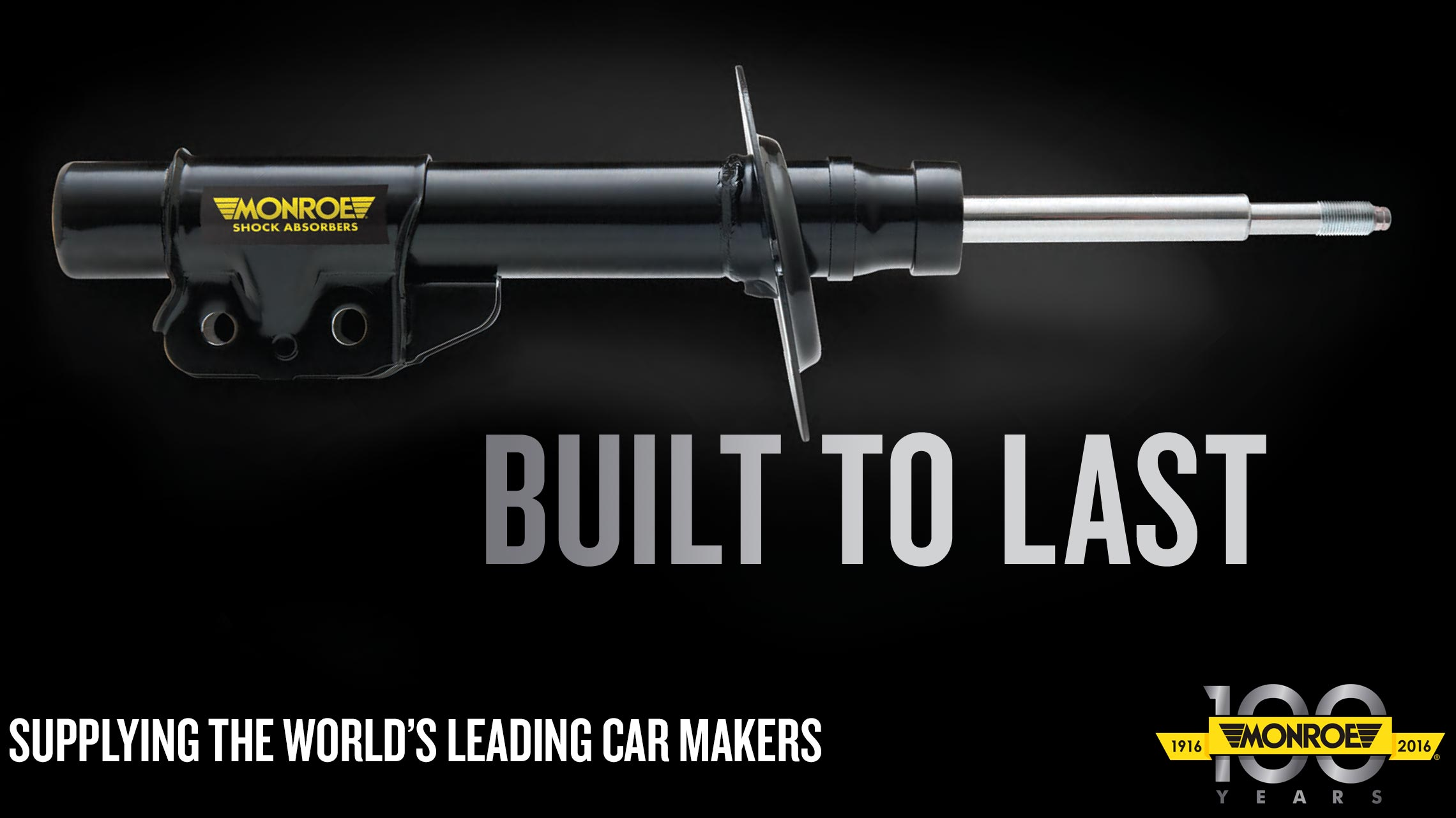 Monroe Shock Absorbers - Built to Last - Supplying the world's leading car makers